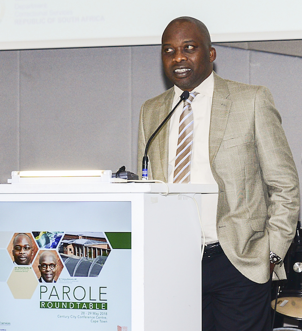 Minister Masutha at parole roundtable